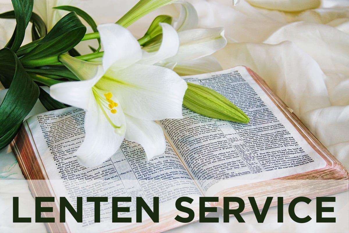 lenten services newnan